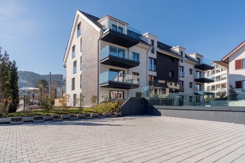Lichtumsäumte 5.5 Zimmer Neubauwohnung mit Reduit & zwei Balkonen