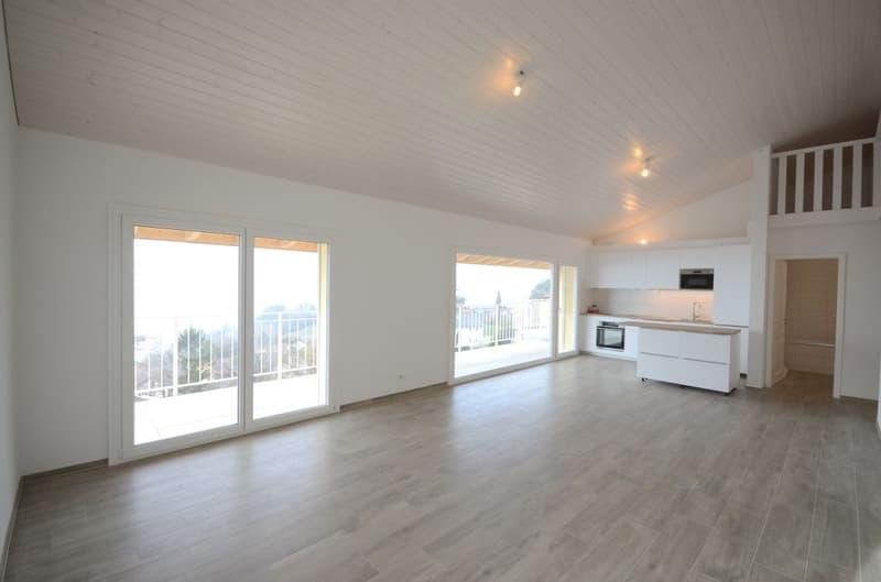 NEUF - 3.5 pièces avec grande mezzanine et vue panoramique !