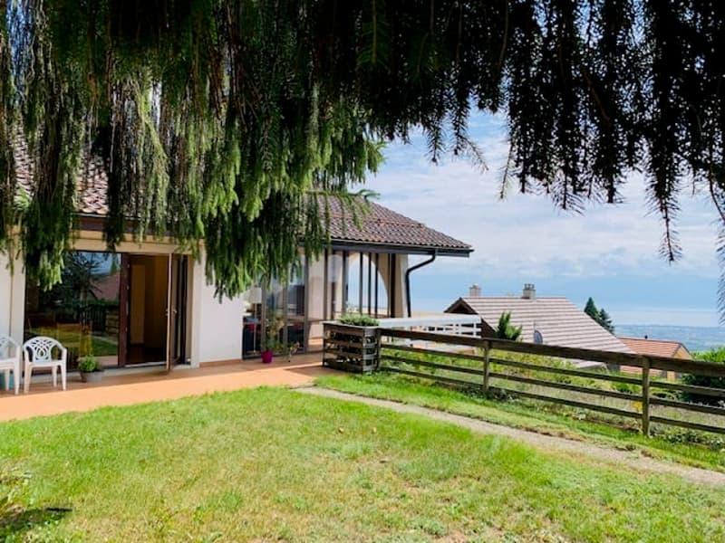 Villa individuelle avec vue sur le lac à Arzier-le-Muids !