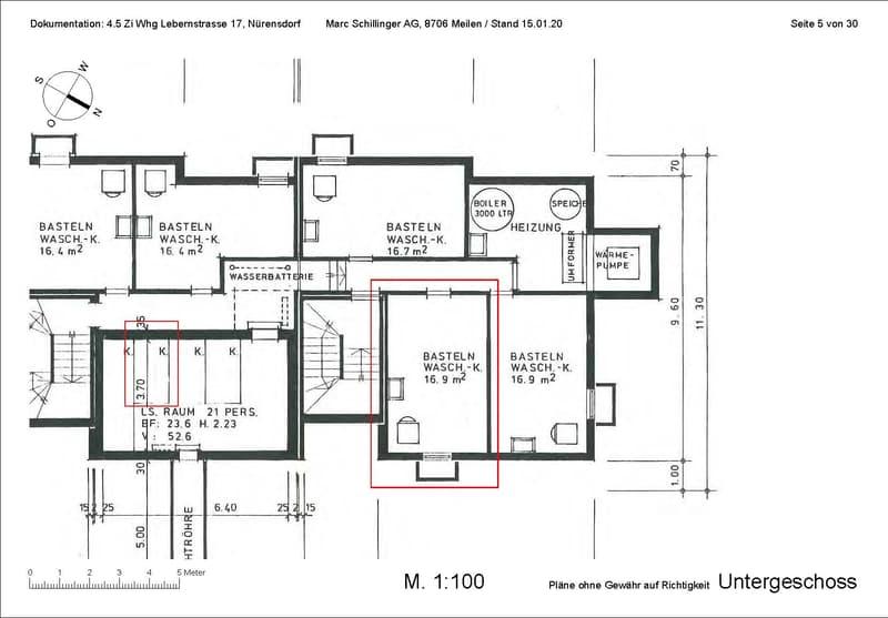 Zentrale, grosse Attikawohnung auf zwei Etagen, Balkon gegen SW mit Aussicht, Cheminée (2)