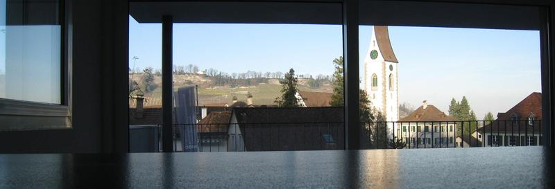 4.5-Zimmer-Neubauwohnung mit grosser Terrasse und Rebbergausblick
