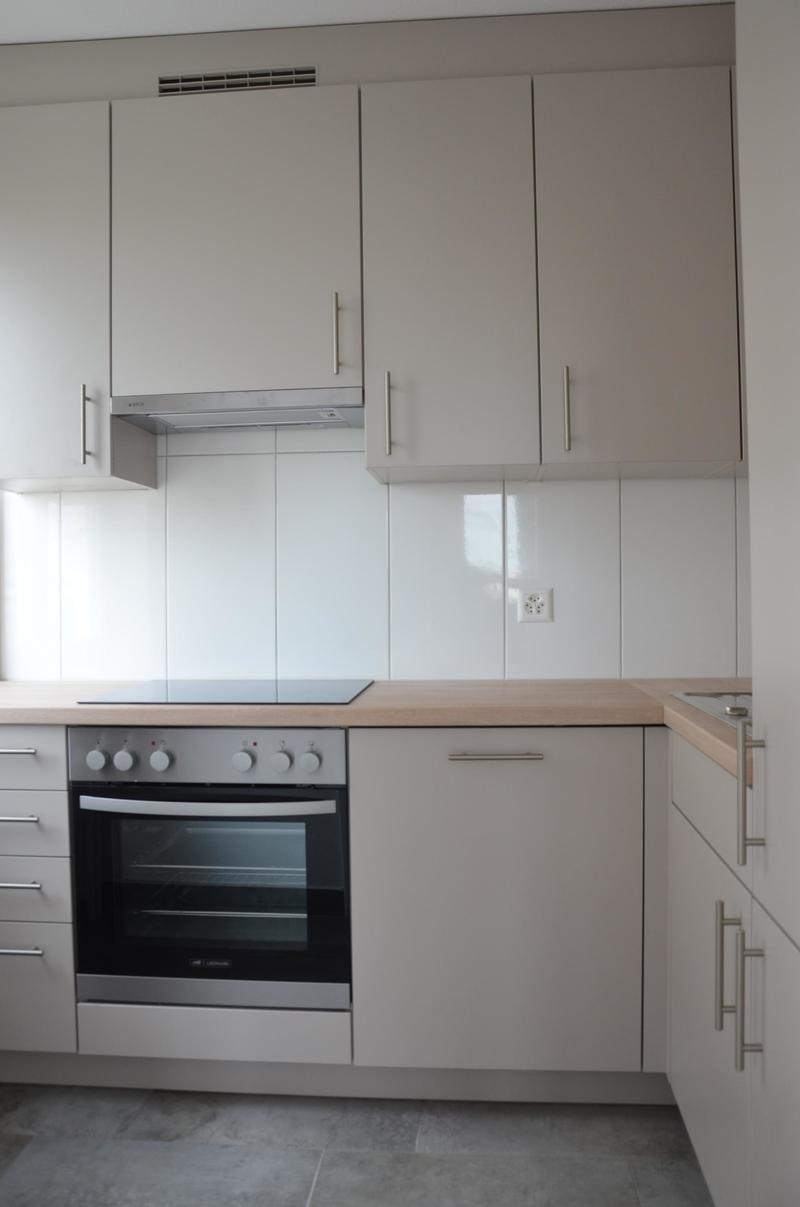 neue, moderne Küche mit Geschirrspüler, etc.