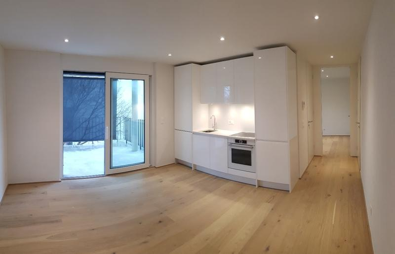 Sonnige 2.5 Zimmer Wohnung inkl. privatem Waschturm
