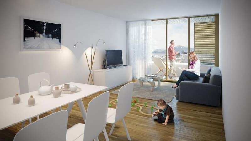Nouvelle promotion - Appartements de 1 pièce à Renens