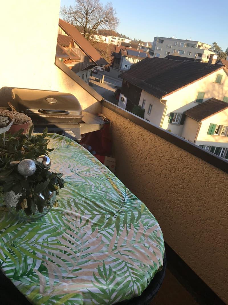 Kleiner Balkon zum Verweilen