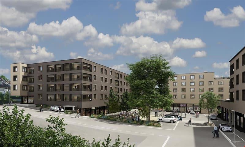 Leuenplatz: Zentrale Begegnungszone
