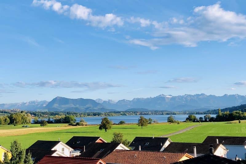 Grandiose See- und Bergsicht: Nur noch zwei Häuser (Haus A)