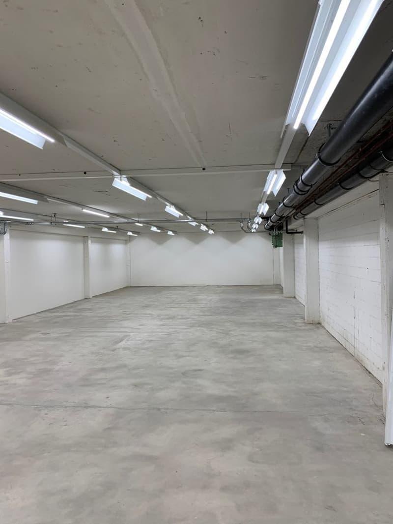 Lagerräume im 1. UG  mit direkter Rampe & grossem Warenlift zu mieten