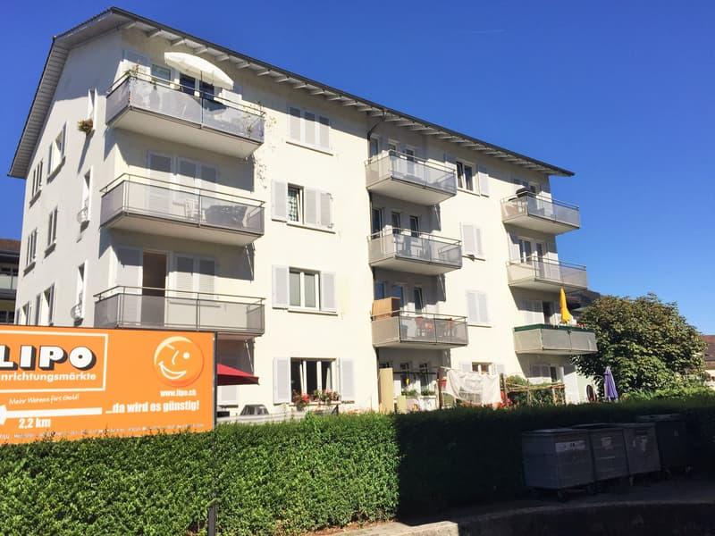 2-Zimmerwohnung vis à vis Emmen Center zu vermieten!