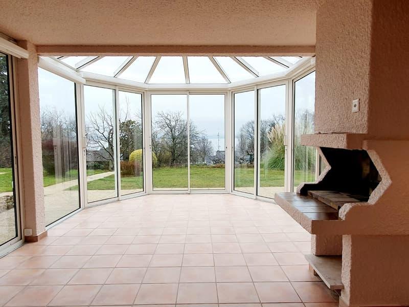 Villa d'architecte - Vue lac
