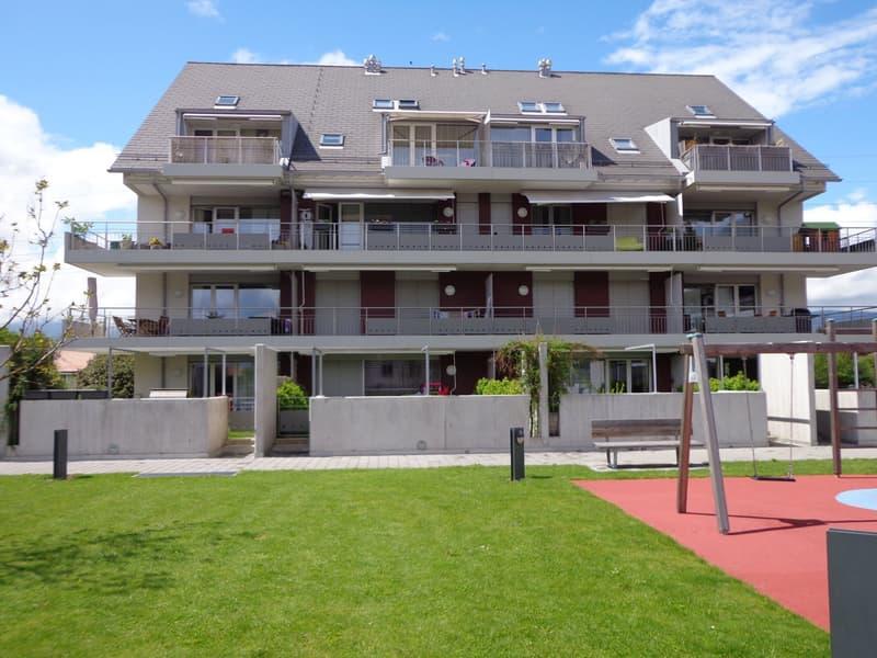 Superbe duplex de 5,5 pièces avec balcons à Prangins