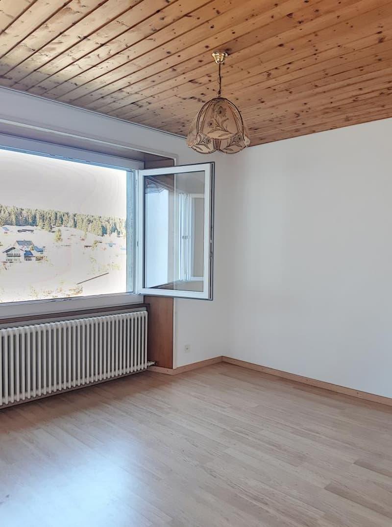 Appartement au 1er étage, vue sur l'Orbe