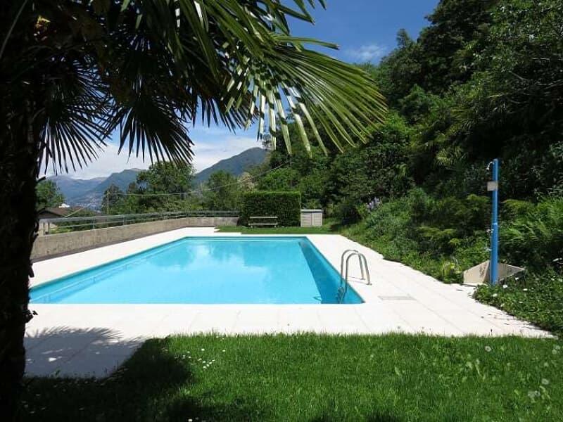 2,5 locali Mansardato con Piscina e Vista Lago (2)