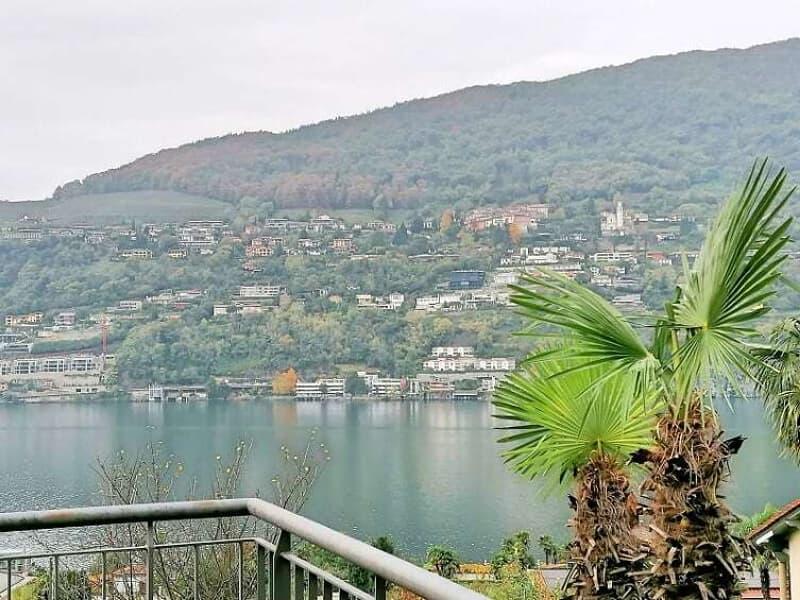 2,5 locali Mansardato con Piscina e Vista Lago (3)