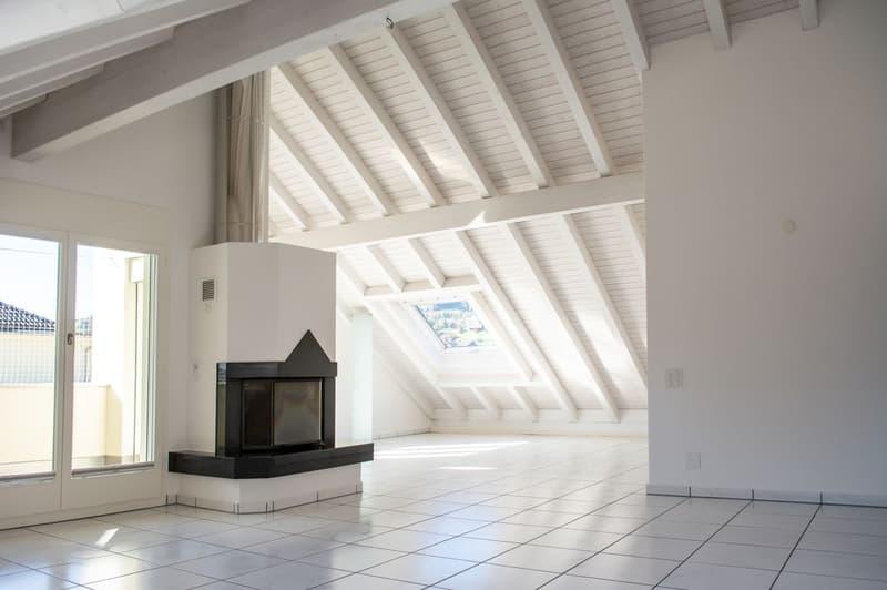 Dachwohnung mit maximalem Wohnkomfort