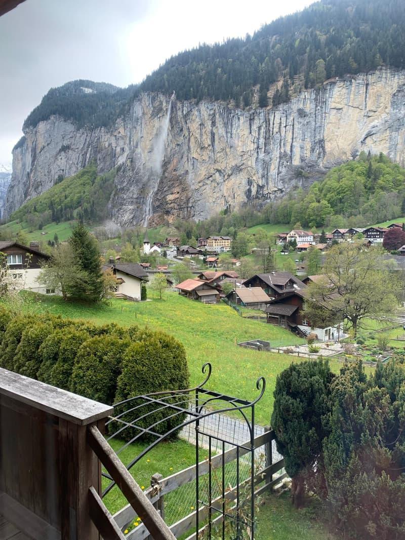 Wunderschöne Maisonettewohnung in Lauterbrunnen