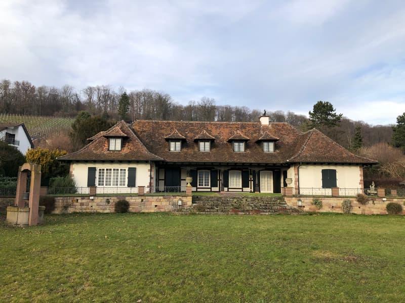 Landhausvilla an vorzüglicher Wohnlage in Biel-Benken