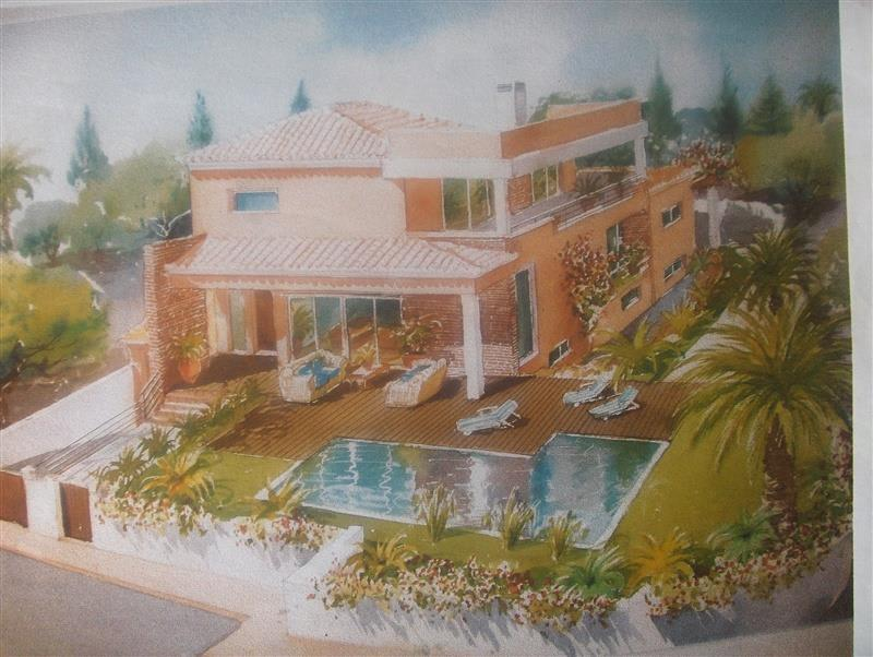 Grundstück mit genehmigtem Immobilien Projekt