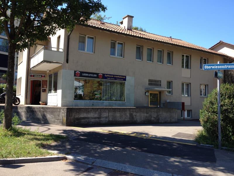 Zürich-Oerlikon, 19 m2, möbilierter Büro/Praxis Raum, ruhig/zentrale Lage, Garten,Oberwiesenstr. 5