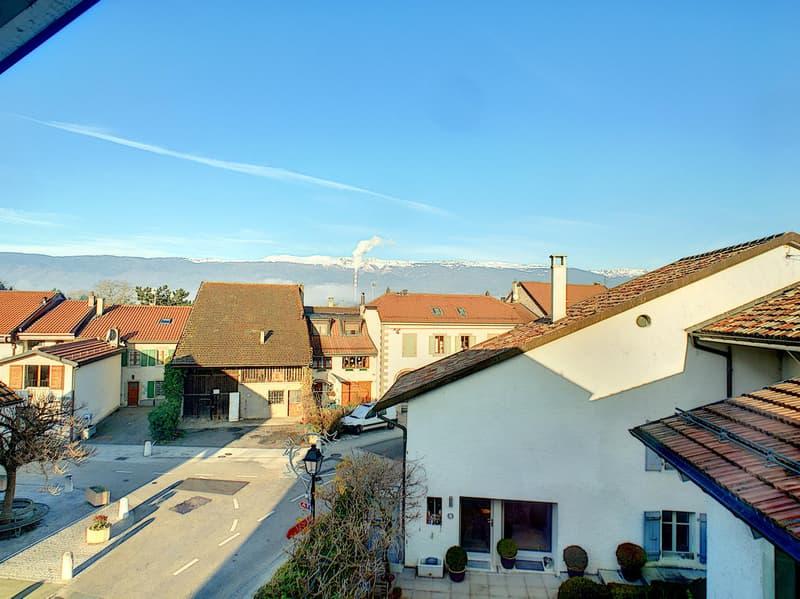 Aire-la-Ville - Maison de village et d'architecte