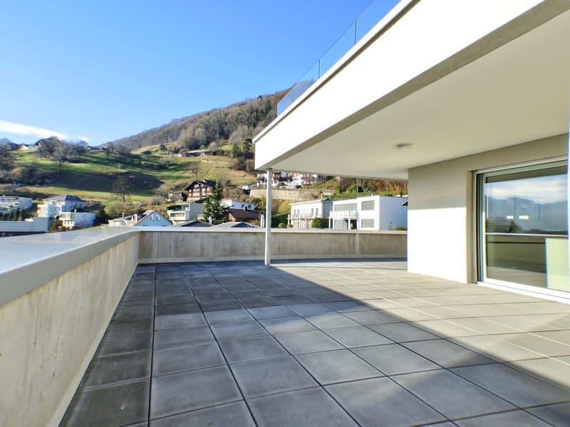 Geniale Attika-Wohnung mit 123m2 Dachterrasse