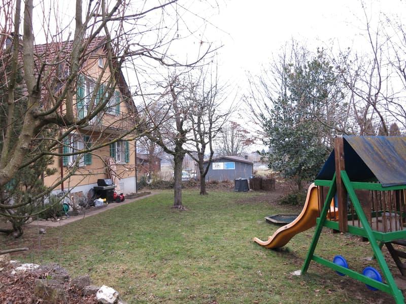 Charmantes, familienfreundliches 5.5-Zimmer-Einfamilienhaus mit Garten und Sauna