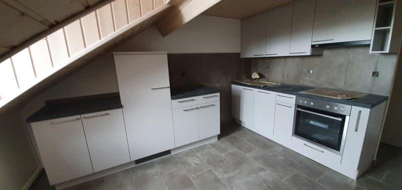 Appartement 2 pièces sous les combles rénové en 2019