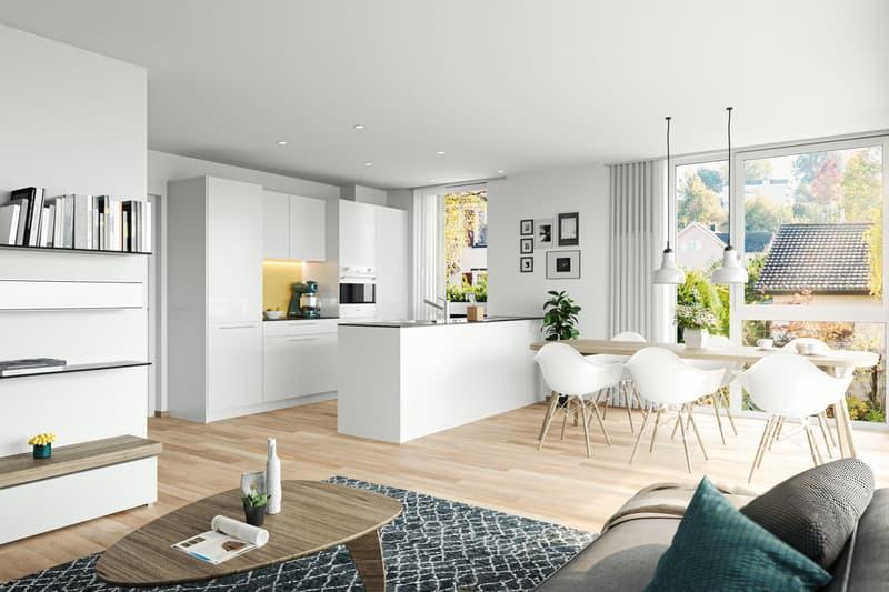 Neubauwohnungen in Bruggen