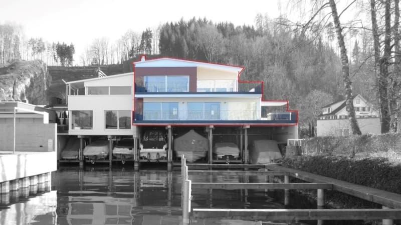 Einzigartige Seeliegenschaft direkt am Zürichsee (2)