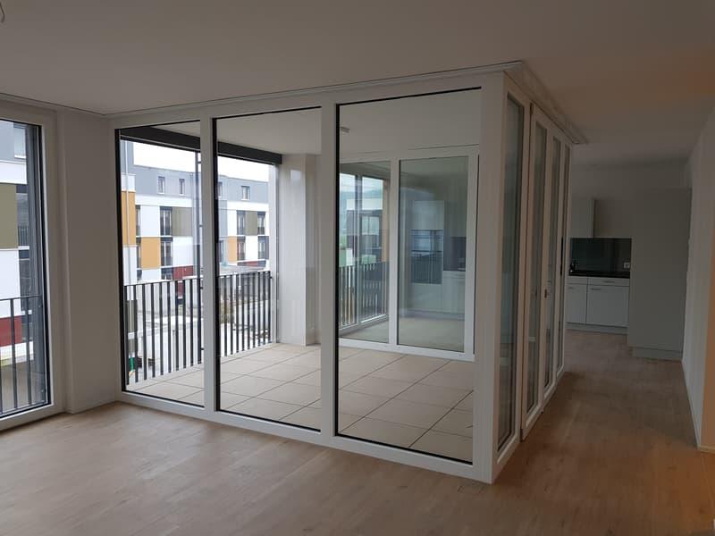 Exklusive 3 1/2 Zimmerwohnung im Minergie Standard