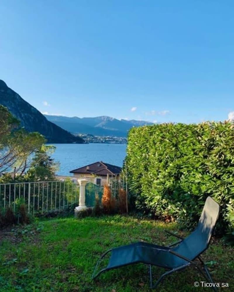 Campione D' Italia appartamento con giardino