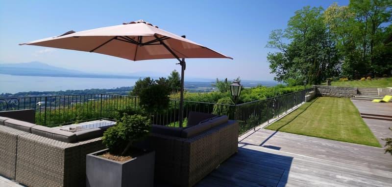 ROLLE : Balcon sur le lac, 500 m2, 20 mn Aéroport (1)