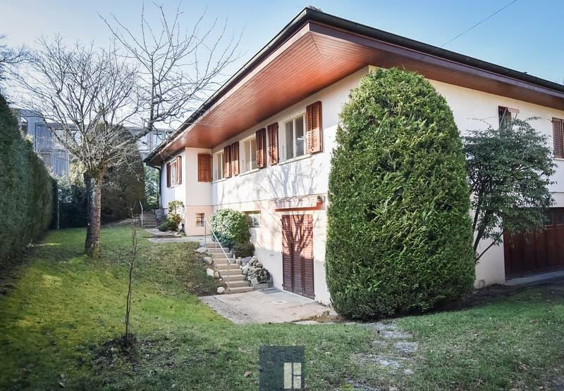 Villa individuelle de 7 pièces avec jardin
