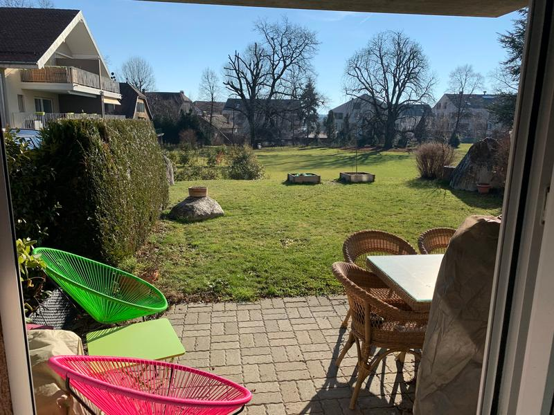 Appartement 2 pièces/jardin à Borex