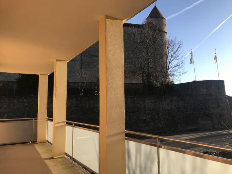 Superbe appartement avec vue sur le château de Grandson!