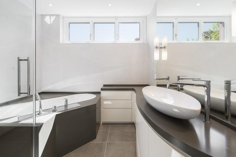 Ensuite Badezimmer Masterbedroom