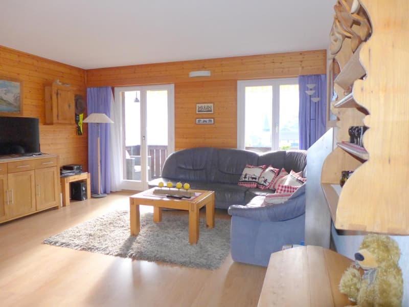 Wohnzimmer mit Top Aussicht