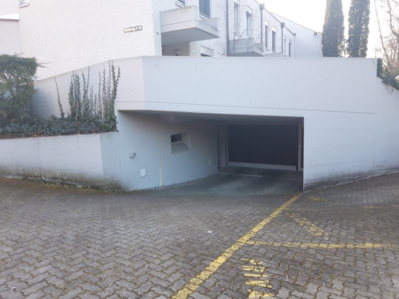 Einstellplatz und Abstellplatz