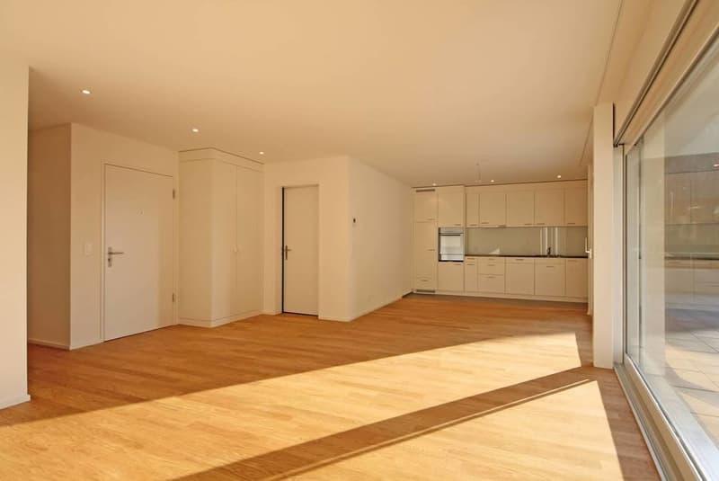 Moderne Wohnung mit offener Küche