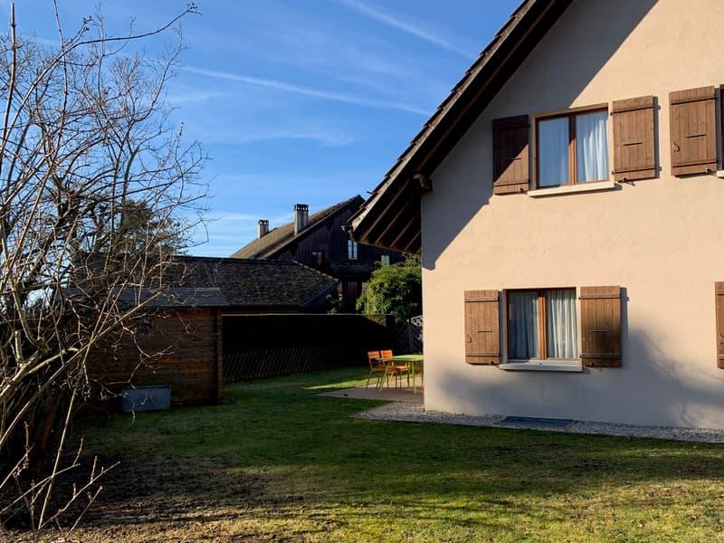 Jolie maison mitoyenne au calme, à deux pas de Lausanne (2)