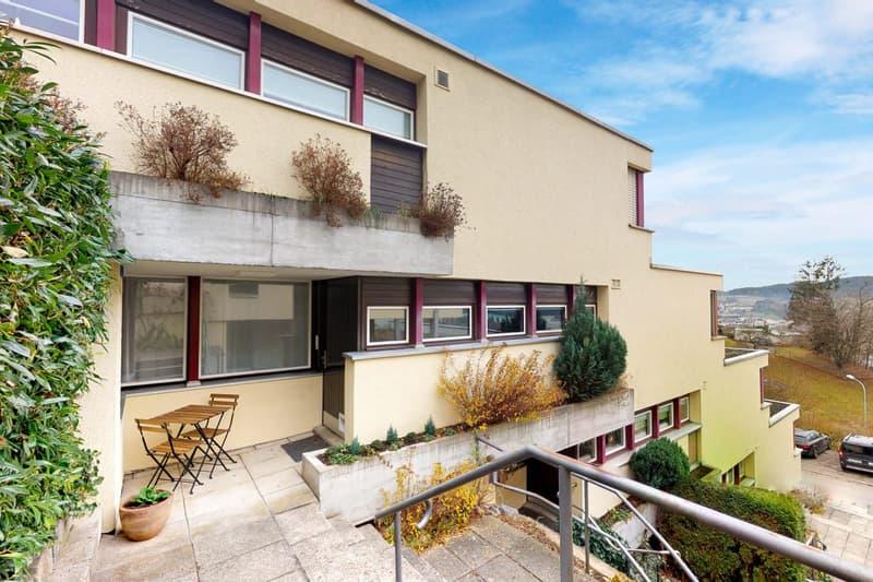6 Zimmer Terrassenwohnung an ruhiger Lage mit traumhafter Aussicht