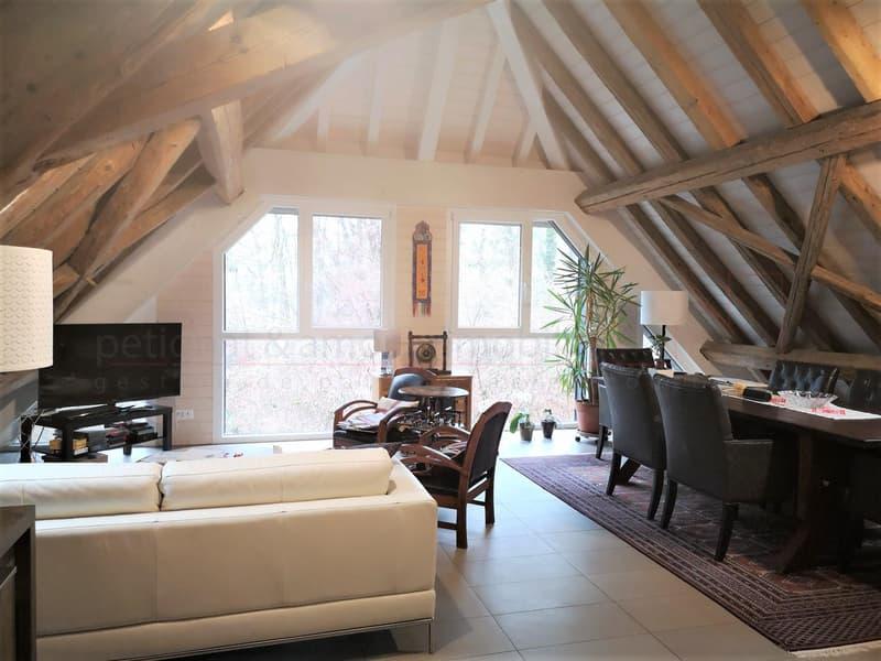Magnifique appartement de 4.5 pièces mansardé avec terrasse.