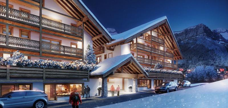 A VENDRE APPARTEMENT 4.5 PIECES NEUF A CHAMPERY