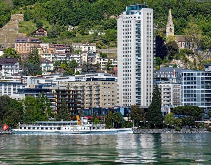 Appartement de 3 pièces, coeur de Montreux, PRIX ATTRACTIF
