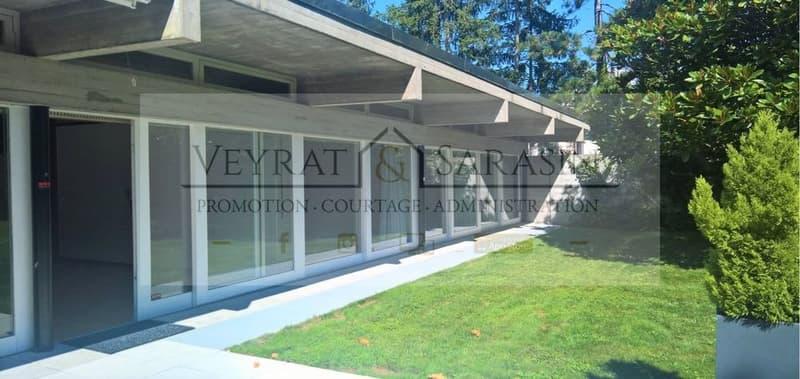 Magnifique villa d'architecte avec grand jardin au Grand-Saconnex