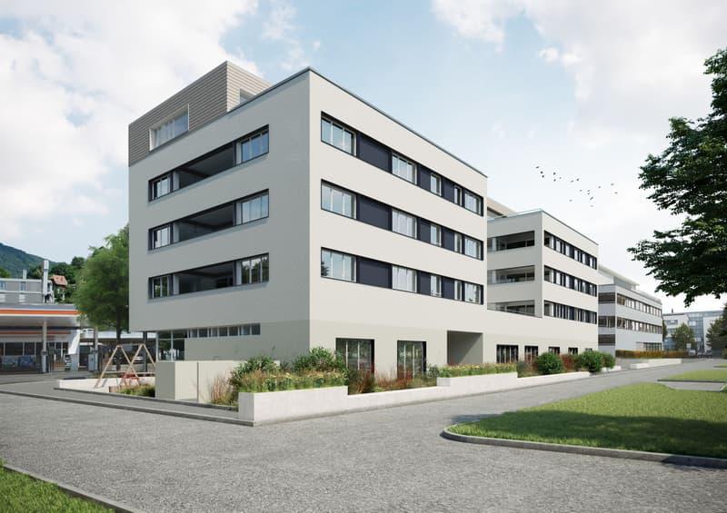 Moderne Architektur an zentraler Lage - (Rohbau fertig) (4)