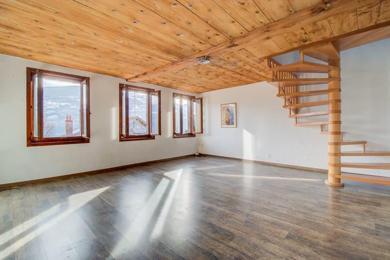 Duplex - 3.5 pces et terrasse - Savièse - EXCLUSIVITE