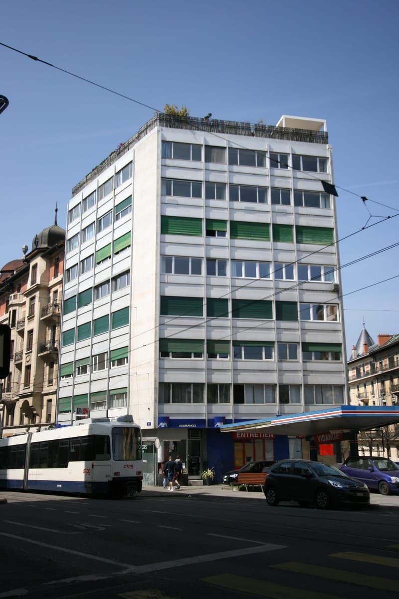 Appartement de 3 pièces aux Eaux-Vives / Villereuse