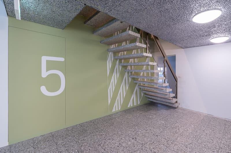 Treppenhaus 5. OG