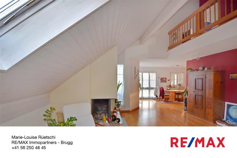 Hell und grosszügig - 4½-Zimmer-Dachmaisonette-Wohnung